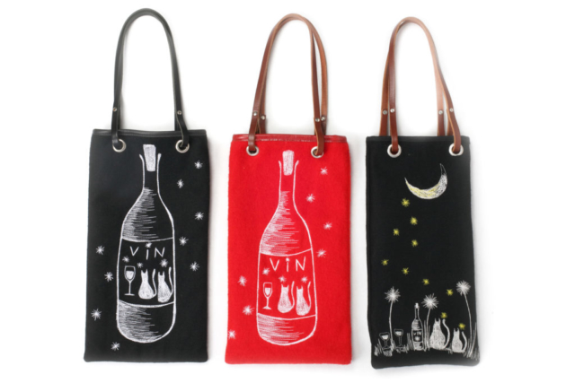Sac トート バッグ bouteille vin champagne ボトル ワイン